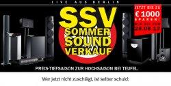 Teufel Sommer Sound Verkauf – nur bis zum 28.08 – z.B. Consono 35 Mk2 5.1 Set für nur 299 [Idealo: 350]