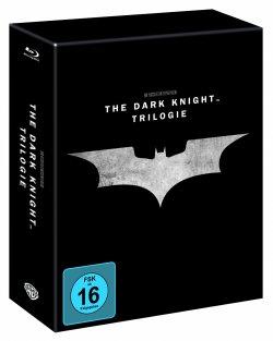 The Dark Knight Trilogy Steelbook Edition (5 Discs) auf Blu-ray für 39,97€ inkl.Versand @Amazon