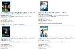 Über 2900 Blu-rays unter 10€ bei Amazon