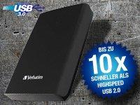 Verbatim Externe 2,5 Festplatte 1TB USB 3.0 für 55€ statt 129€ (+6,95 € Versand) @pearl.de