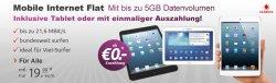 Vodafone UMTS Surf-Flat 5GB für 3,74 Euro monatlich dank 420€ Bar-Auszahlung @handytick.de