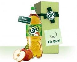 1 Flasche Lift Apfelschorle gratis verschenken