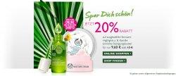 20% Rabatt auf ausgewählte Produkte @The Body Shop