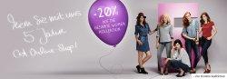 20% Rabatt auf Damenmode bis einschließlich Mittwoch bei C&A