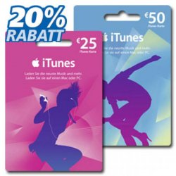 [Lokal] 20% sparen bei Netto auf iTunes Karten durch Coupon