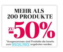 200 Produkte bis zu 50% reduziert bei  CCBParis