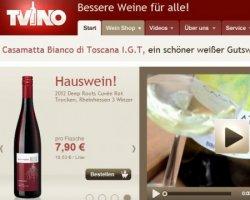 20€ Gutschein auf Weine (ab 50€ MBW) @tvino.de