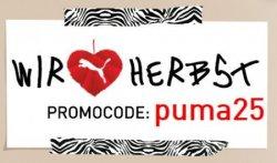 25% Gutscheincode für den Puma Online Shop