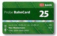 3-Monats-BahnCard 25 für 19 € (vom 1. Oktober bis 31. Dezember 25% sparen) @deutschebahn.com