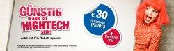 30€ Gutschein + kostenlosen Versand (MBW: 299€) @ medion.de