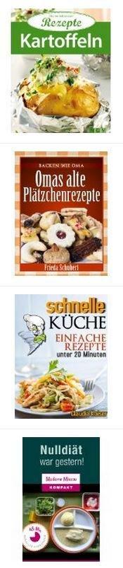 4 Kochbücher kostenlos als eBook @Amazon