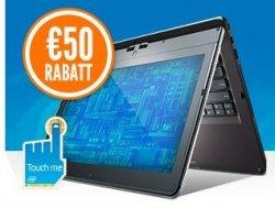 50€ Rabatt auf Touch-Ultrabooks mit Gutschein @notebooksbilliger