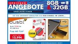 8GB – 32GB USB Sticks und SDHC Speicherkarten Schnäppchen ab 6,99€ bei Zoombits