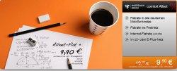 Allnet-Flat + Surf-Flat (500MB) für 9,90€/mtl. im o2- oder E-Plus-Netz @handyflash.de