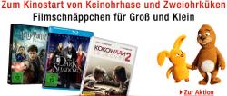 Amazon Filmschnäppchen für Groß und Klein nur am 26.09.2013