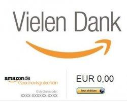 Amazon Gutscheine im Wert von 50€ kaufen und 10€ Gutschein geschenkt bekommen @amazon