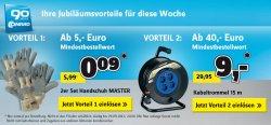 Arbeitshandschuhe (2er Set) 0,09€ ab 5€ | Kabeltrommel (15m) für 9€ ab 40€ @Conrad