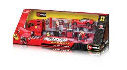 Bburago 15631202 – Ferrari Race & Play Autotransporter für 9,81 Euro inkl. Versand (Preisvergleich 16,19 Euro) bei Amazon