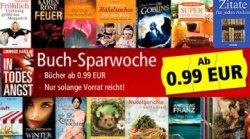 Buchsparwochen bei Weltbild: bis 92% Rabatte und portofrei