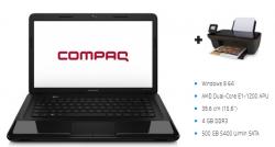 "Compaq CQ58 Notebook (15,6"", AMD Dual-Core E1, 4GB RAM, 500GB HDD) + Drucker HP Deskjet 3055A für 318,99€ inkl. Versand @hp.com"
