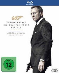 Daniel Craig Blu-ray Box (3 Blu-ray´s) für nur 12,99€ inkl. Versand @buecher.de