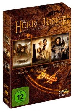 Der Herr der Ringe Trilogie als DVDs nur 5,85€ inc. Versand @Amazon