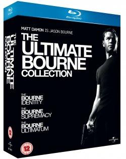 Die Ulimative Bourne Collection Blu Ray Box 1-3 für 15,73€ incl. Versand mit deutscher Tonspur