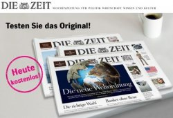 Die Zeit 4 Wochen gratis @leserservice.de