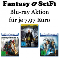 Fantasy & SciFi Blu-ray Aktion für je 7,97€ @amazon