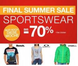 Final Summer Sale bis zu -70%! + 10€ Gutschein! bei Amazon