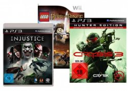 Gamesaktion bei Amazon: 3 Spiele für nur 49 Euro