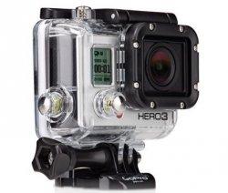 GoPro HERO3 Action Cam in der Black Edition für 329€ + 98,70€ in Punkten bei rakuten.de