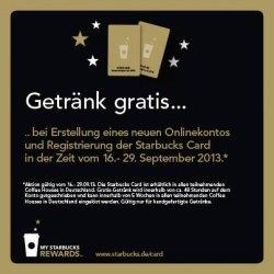 Gratis: Freigetränk bei Starbucks durch Facebook Aktion