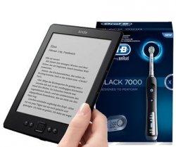 Gratis Kindle beim Kauf einer Oral-B Black 7000 Zahnbürste (ab 180€) @Amazon