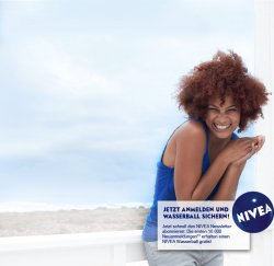 Gratis Nivea Wasserball – Voraussetzung: Bei Facebook Nivea Newsletter abonieren