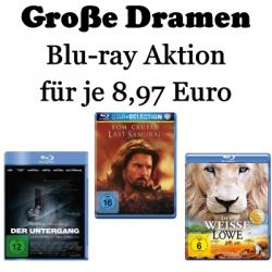 Große Dramen Blu-ray Aktion für je 8,97€ @amazon