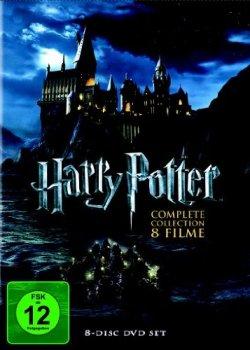 Harry Potter – Complete Collection (8 DVDs) für 19,97€ zzgl. 3,00€ Versand  (Idealo 31,98€) @amazon