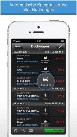 [iOS] derzeit Gratis – finanzblick – Onlinebanking App