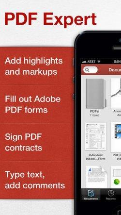 [iOS] Für kurze Zeit gratis, statt 8,99€ – PDF Expert (professional PDF documents reader)