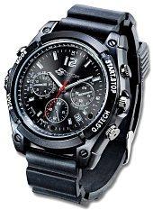 Kamera Uhr mit Full-HD & 8 GB Speicher, mit Infrarot-Nachtsicht für 99,99 €uro @ hugendubel.de