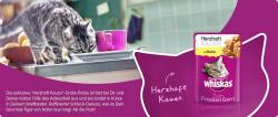 """Kostenlose Katzenfutter Probe """"Herzhaft Kauen mit Huhn"""" bei Whiskas"""
