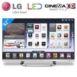 LG 42LM670S 42 Zoll LED Cinema Screen 3D Smart TV für 629,95€ + 8,95€ Versand (Idealo 728,99€ gebraucht!) @iBOOD