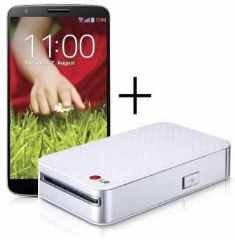 LG G2 vorbestellen und 85% Rabatt auf den LG Pocket Photo-Drucker erhalten @Amazon