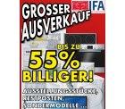 [Lokal – Euronics Braun] IFA Ausverkauf – bis zu -55% – Ausstellungstücke, Restposten,…nur in 72280 Dornstetten