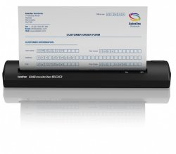 mobiler Scanner Brother DS-600 für 59 Euro inkl. Versand (statt 119 Euro Idealo) bei comtech