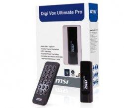 MSI Digi Vox Ultimate Pro USB 2.0 1080i HDTV DVB-T Empfänger für 15,10 € (Idealo 29,00€)@ebay