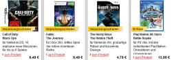 Neue B-Ware bei MeinPaket z.B. Konsolengames sehr günstig