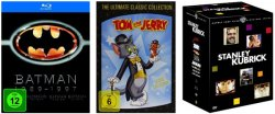 Neue Filmangebote bei Amazon z.B. 2 Blu-rays für 13 Euro oder 4 DVDs für 20 Euro