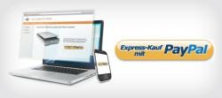 Schnell und direkt: Bezahlen mit PayPal Express