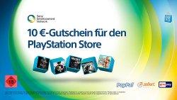 PlayStation: 10€ Gutschein bei Aufladen des Kontos per giropay oder SOFORT/PayPal